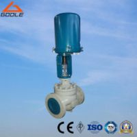 ZDLP Electric Actuated Single Seat Globe Control Valve