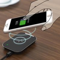 Wireless Charger, AIRNOLD Ultra-Slim Qi Wireless Charger Compatible iPhone Xs Max/XS/XR/X/8/ thumbnail image