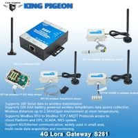 LoRa gateway wireless remote monitoring and control RF transmit RS485 GSM 3G 4G 5G ethernet to cloud thumbnail image