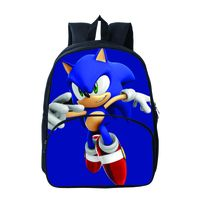 Sonic Backpack capacity School bag travel bag thumbnail image