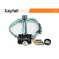Rayfall hunting aaa battery led headlamp portable led head lamp H3A