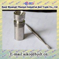 gr2 domeless titanium nail with 18mm female