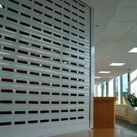Workind place shutter system
