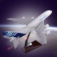 Scale Model Aircraft Simulation Plane Model Customization Airbus 380 Original Aircrafts Resin Manufa