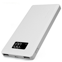 10000mAh Portable Battery Mobile Power Bank USB Charger Li-Polymer with LED Indicator