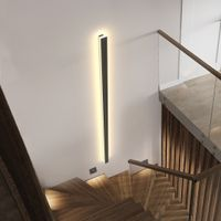 Rectangle Indoor Wall Lamp IP65 Outdoor Garden Porch Sconce Lamp Bedroom Bedside Wall Light thumbnail image