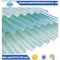 Anti-Corrsion Type Fiberglass Reinforced Polyester (FRP) Corrugated Roofing Sheet, Corrugated Board,