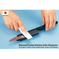 Japan Made Diamond coated kitchen knives sharpener for ceramic, titanium, steel, stainless steel thumbnail image