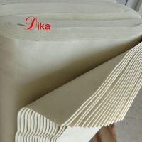 eco friendly 2mm natural white color pressed sauna wool felt thumbnail image