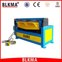 BLKMA steel sheet metal manual hydraulic folding machine