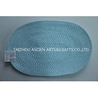 Colorful oval placemats YS-PP12-062OV