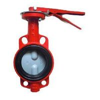 Soft Seat Double Axis Butterfly Valve in Wafer Type (YH-D71X-25/10/16)