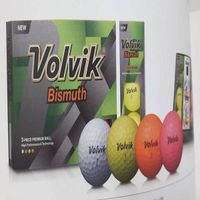 3piece bismuth color golf ball thumbnail image