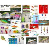fishing lure,artifical lures, hard lure, soft lure, fishing baits, frog, spinner, spoon, spinnerbait thumbnail image