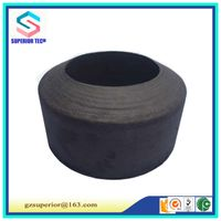 solid carbon fiber felt/furnace thermal insulation