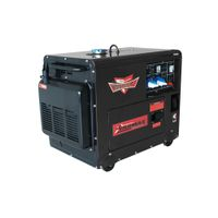 7kva Electric Start Diesel Generator, Silent Type,with 192F Engine