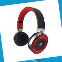 3 in 1 foldable stereo wholesale metal plate FM TF card bluetooth headset thumbnail image