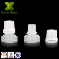 9.6mm spout cap for liquid/powder/sauces soft packaging