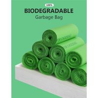 Biodegradable and compostble Yard Waste Bags for leaves Rubbish bag Garbage bag Refuse bag