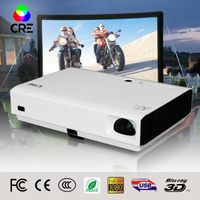 Cre X3000/X2500 high quality fast shipping mini laser cinema 3D home dlp projector 1080p
