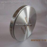 dental CAD CAM milled titanium