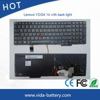laptop accessories laptop keyboard Lenovo YOGA14 with backlight us layout