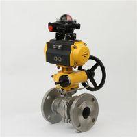 Stainless Steel/WCB Pneumatic Floating Ball Valve thumbnail image