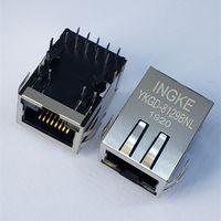 7499111121A 1 Port Through Hole 1000 Base-T RJ45 LAN Jacks with Integrated Magnetics