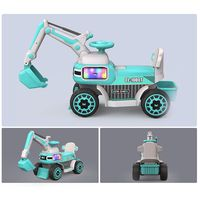 new design rechargeable battery power popular toy electric kid navvy car thumbnail image