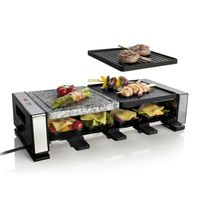 Electric Raclette Grill Maker for 8 person