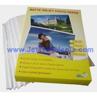 125g Single Sided Cast Coated Matte Photo Paper (JM125)