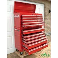 professional outdoor 4 wheel metal tool chest