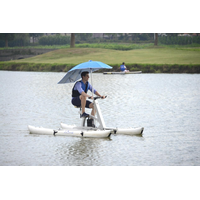 New standard one person water bike for sport and entertainment