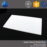 Decorative Embossed Calcium Silicate Panel