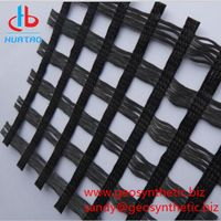 High Strength Warp Knitted Polyester Geogrid