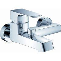 Square modern design hot cold bathtub faucet tap