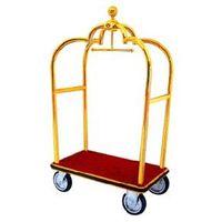 bellboy luggage trolley