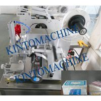 Semi-auto plane/top/flat labeling machine