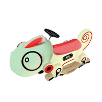 Bettery operated game machines card reaction chameleon shape bumper car thumbnail image