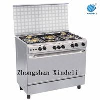 5 Brass burners gas cooking range with oven and grill thumbnail image