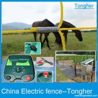 Agriculture electric fence energiser battery chargers solar power energizer for ranch