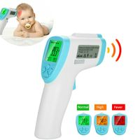 Forehead & ear infared thermometer