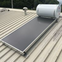 High Efficiency Black Flat Plate Thermal Solar Collector For Water Heating thumbnail image
