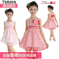 2013 new fashion designer girls dress Children clothes wholesale thumbnail image