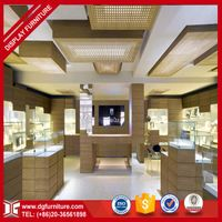 Wooden jewelry showcase jewelry display counter design