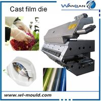 Cast film die pvc transparent film automatic extrusion mould