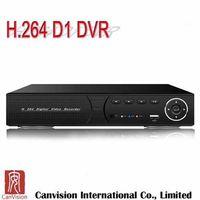 H.264 4 Channel CCTV USB Standalone DVR Player