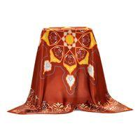 Wholesale Personalized Custom Digital Print Silk Head Scarf