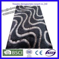 low price polyester fiber rug stock floor mat