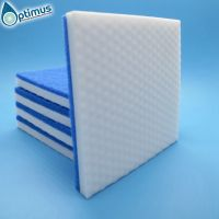 melamine microfiber cloth dot on surface blue scouring pads for household kitchen office cleaning thumbnail image